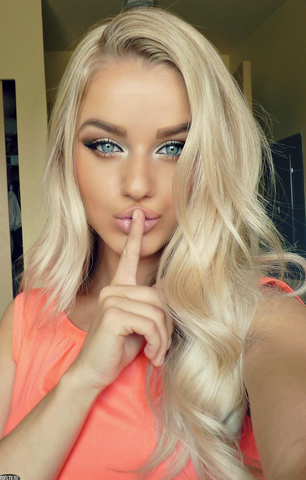 Фото блондинок с красивыми волосами 18 фотография