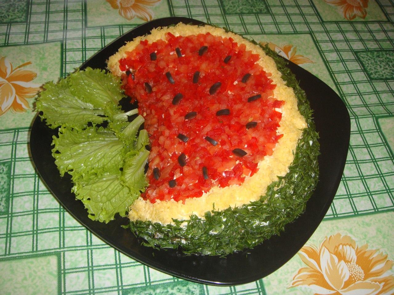 салатики на день рождения с рецептами