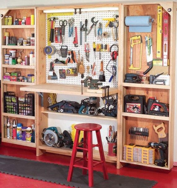 Верстак и шкаф для инструментов - ваши незаменимые помощники в мастерской Дизайн интерьера, эксклюзивный интерьер, отзывы, как с