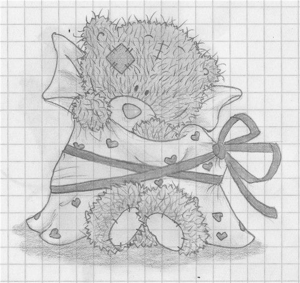 16 Янв 2013 Рубрика: без рубрики. как нарисовать мишку тедди с сердечком карандашом