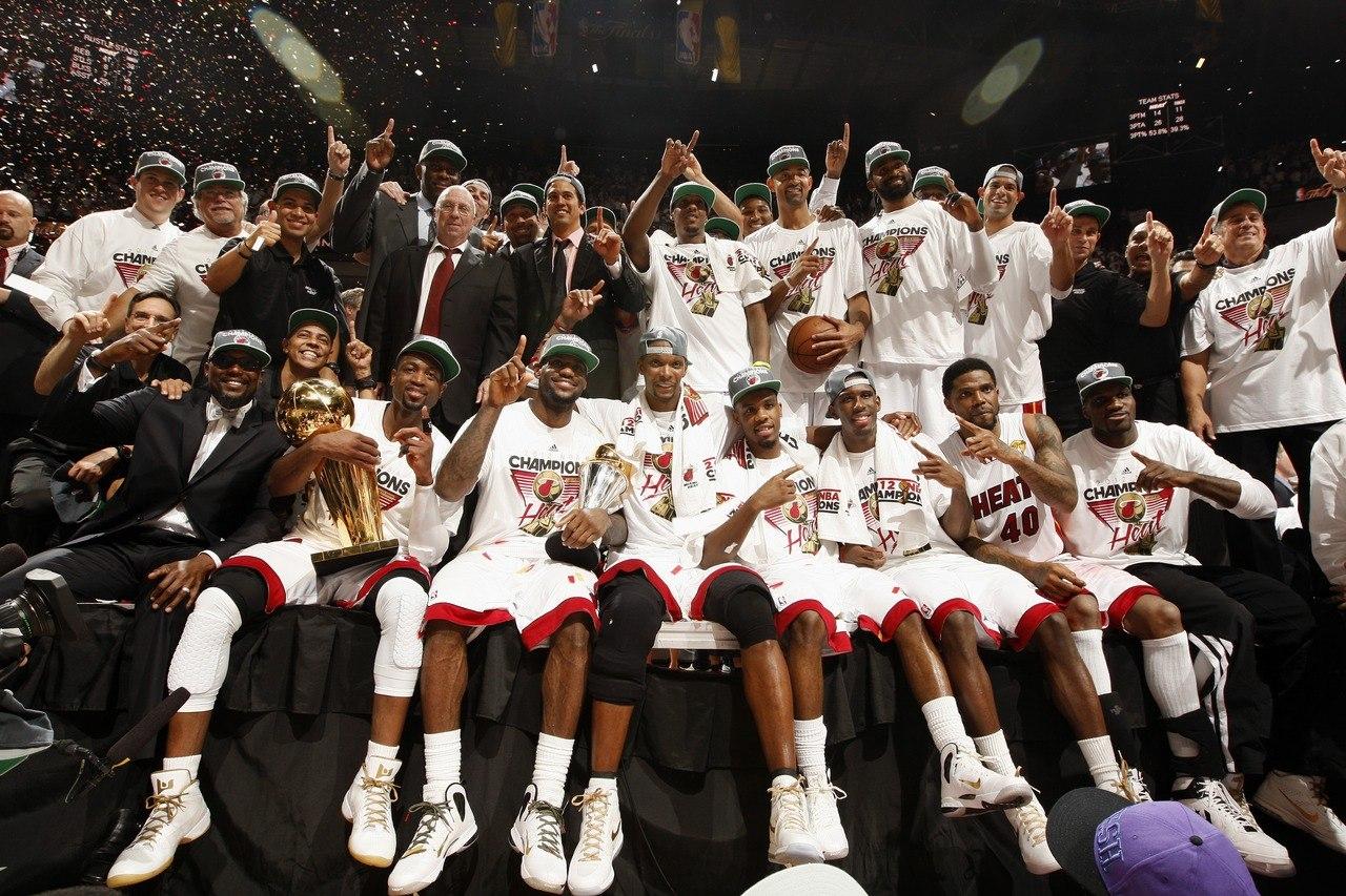 Чемпионы НБА 2012