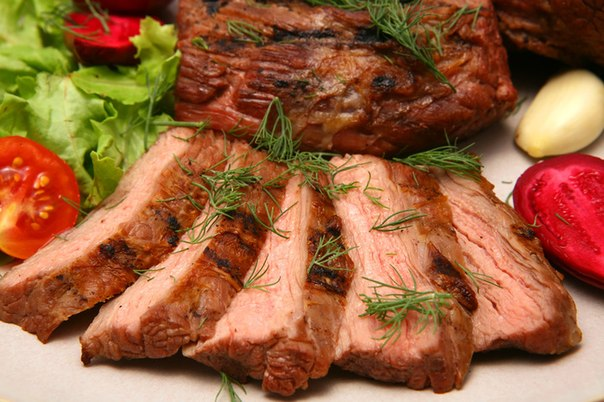 Рецепты блюд с мясом