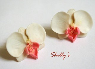 Мастер-класс по лепке из полимерной глины: Орхидея Фаленопсис.
