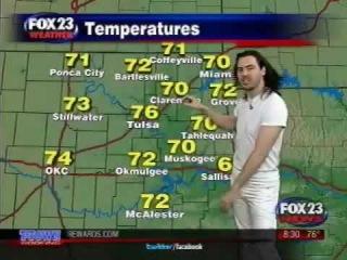 Andrew W.K. The Weather Man - Fox News
