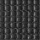 Квадро черный Искусственная кожа для дверей шкафов-купе.