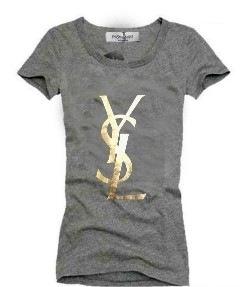 Yves Saint Laurent женская футболка - Brands-factory.ru - Оптовые .