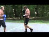 Fedor Emelianenko Sparing with his brother Aleksander