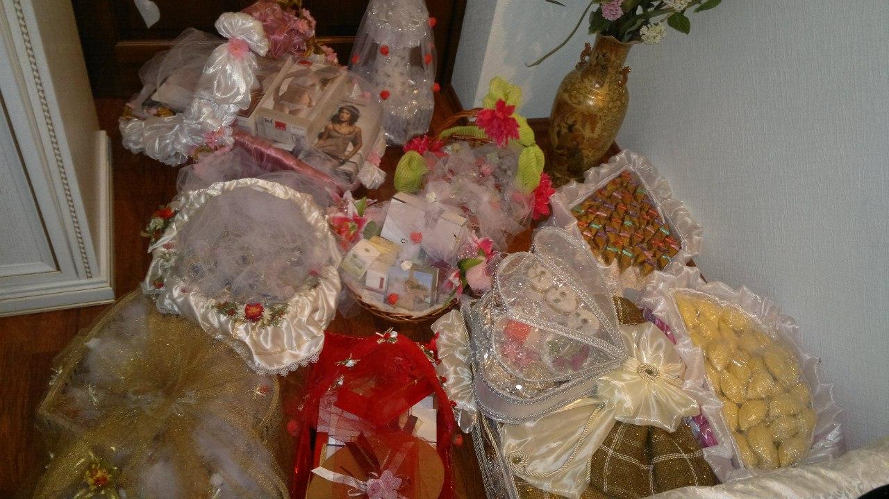 Подарки при сватовстве со стороны невесты 563