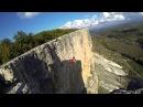 Tricking on a highline in Kachi Kalyon