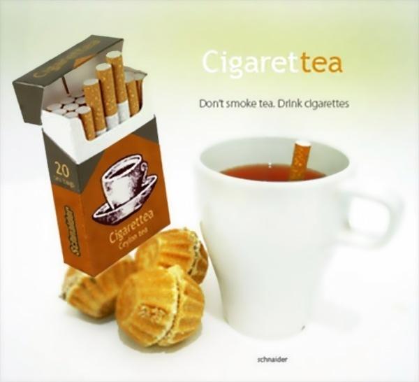 Чайные сигареты - чай из сигареты