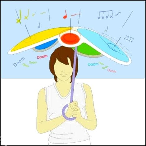 Музыкальный зонт