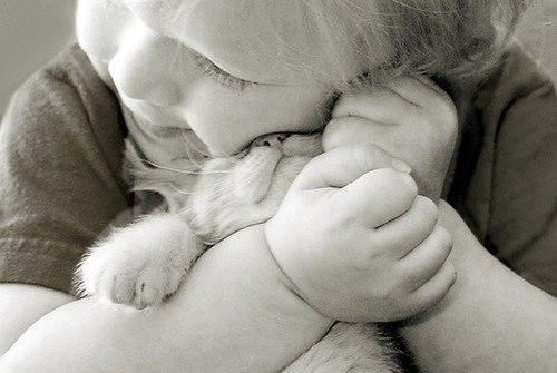 Дети и животные ангелы нашего мира