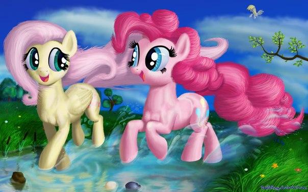 Winx и пони Дружба это чудо картинки