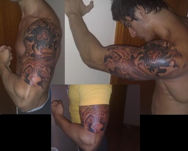 tatuagem zyzz