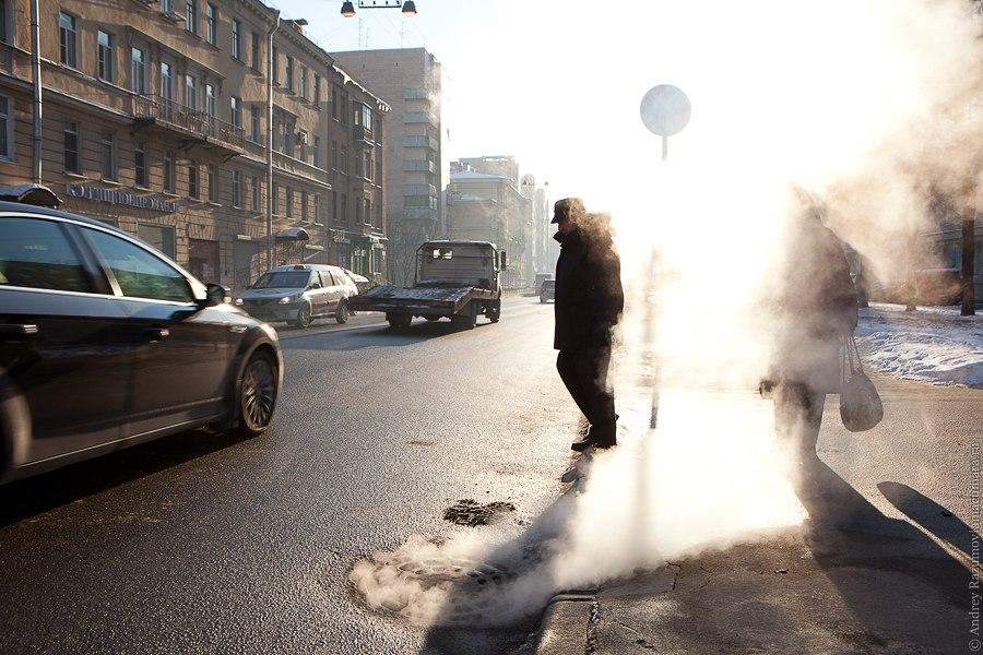 Морозы в Петербурге