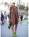 Уличная мода на London Fashion Week s/s 2012.  Milan Fashion Week: Jil...