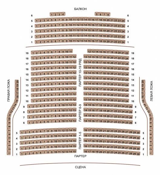 """Новое здание театра Новая Опера, построенное в 1997 году в саду  """"Эрмитаж """", - это зал на 700 мест, оснащенный..."""