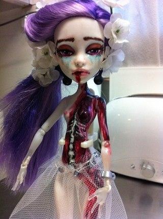 фото ооаки кукол монстер хай