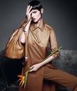 де Брау (Saksia de Brauw) в рекламной кампании MaxMara весна-лето 2012.