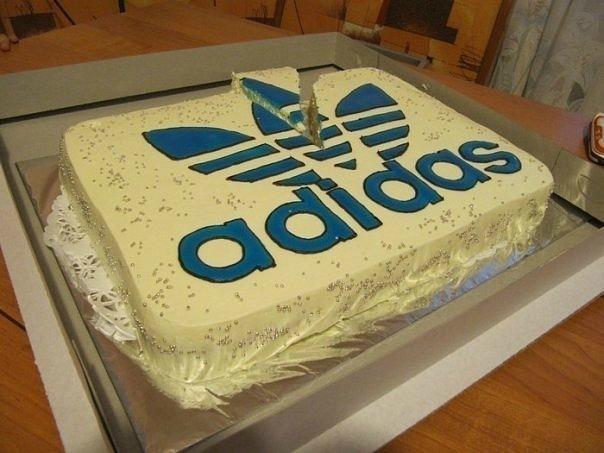 Торт Adidas :D. Альбина Саксонова.  22vo7 Official 228 Vatakat Граффити...