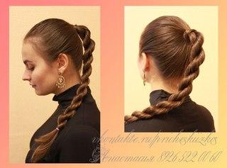 Плетение кос бохо стиль