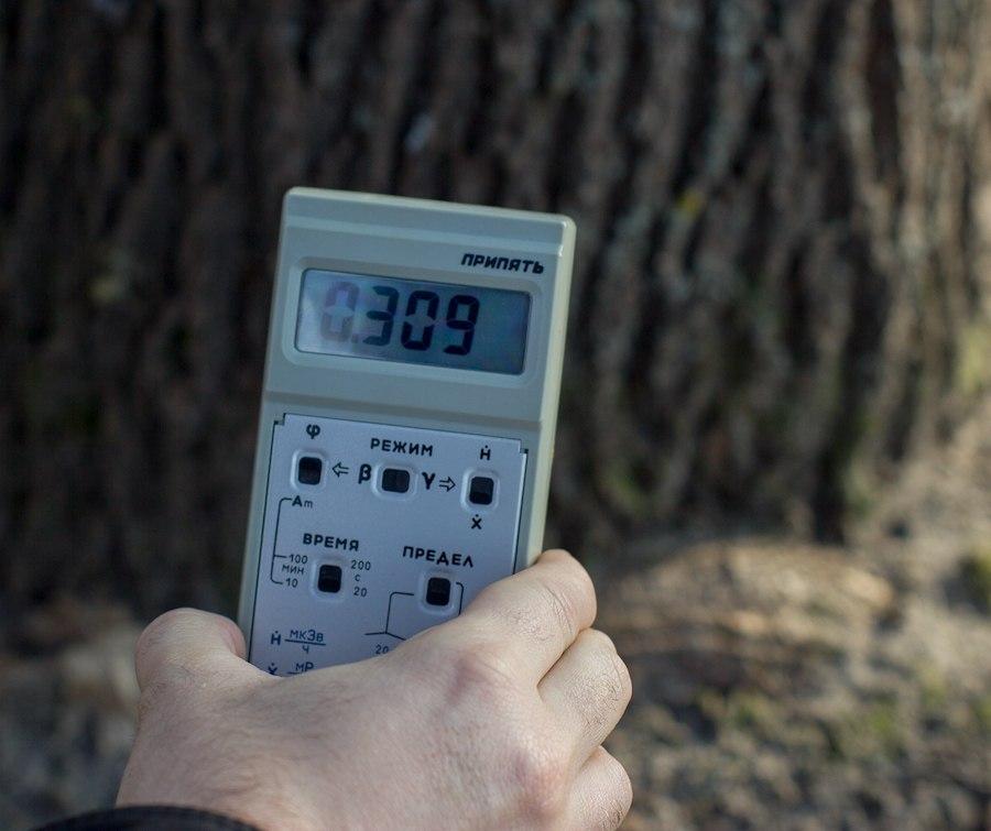 радиация возле детского сада Копачи