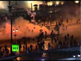 Greece riots: Athens burns, police fire tear gas as violence flares up