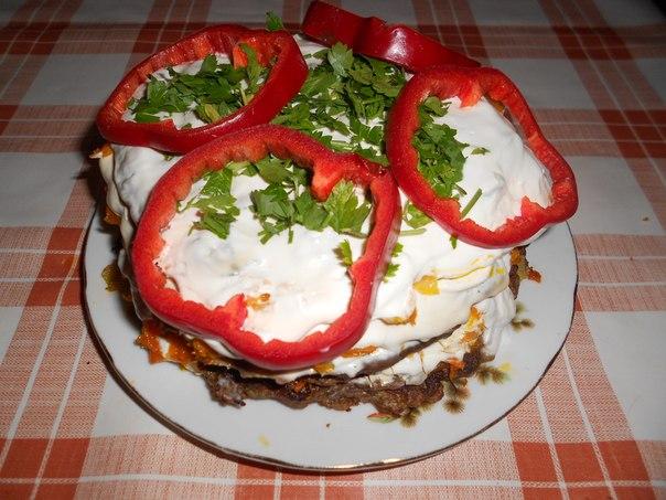 Печёночный торт Z77VTno4w4M