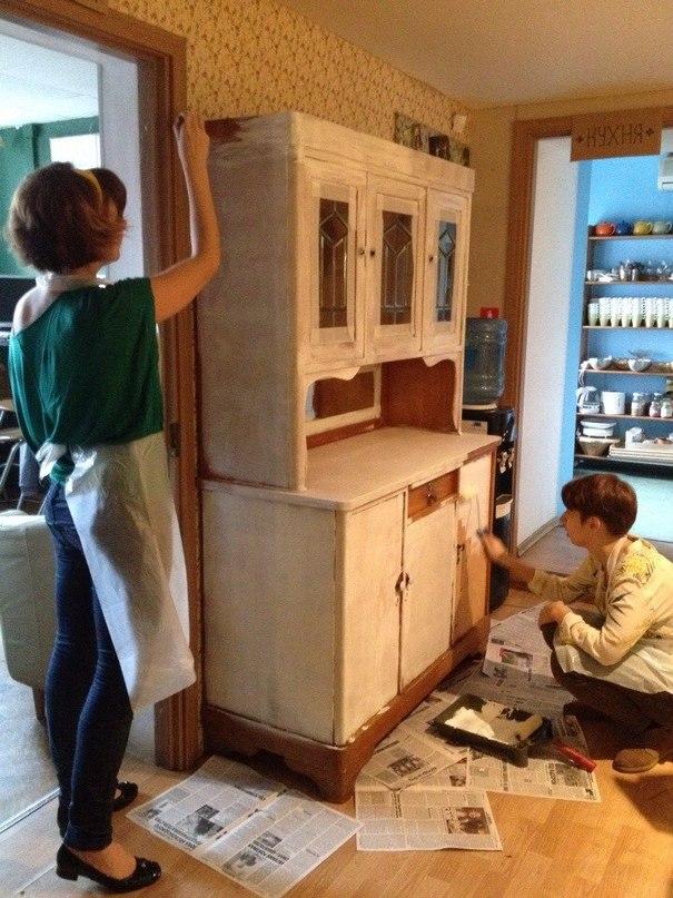 Реставрация в домашних условиях буфета