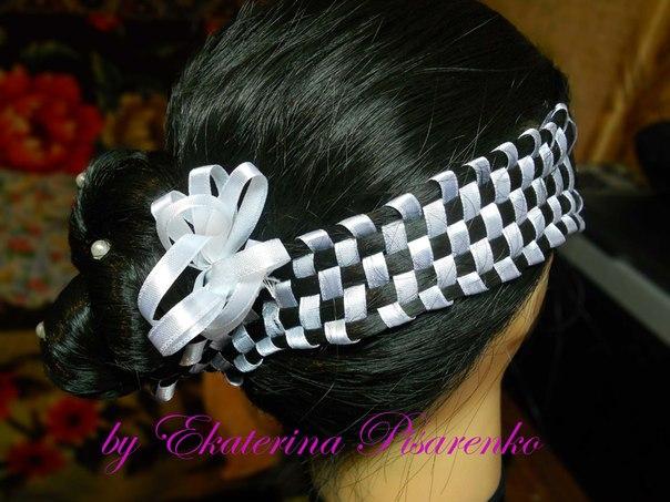 Плетение французских кос.