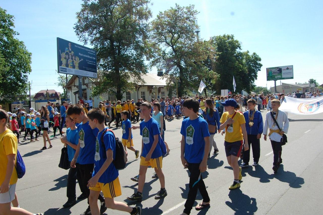 малые олимпийские игры, Ирпень, Коцюбинская ДЮСШ, футзал, спорт