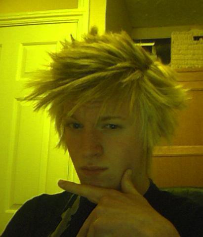 Cute Emo Boys with Blonde Hair