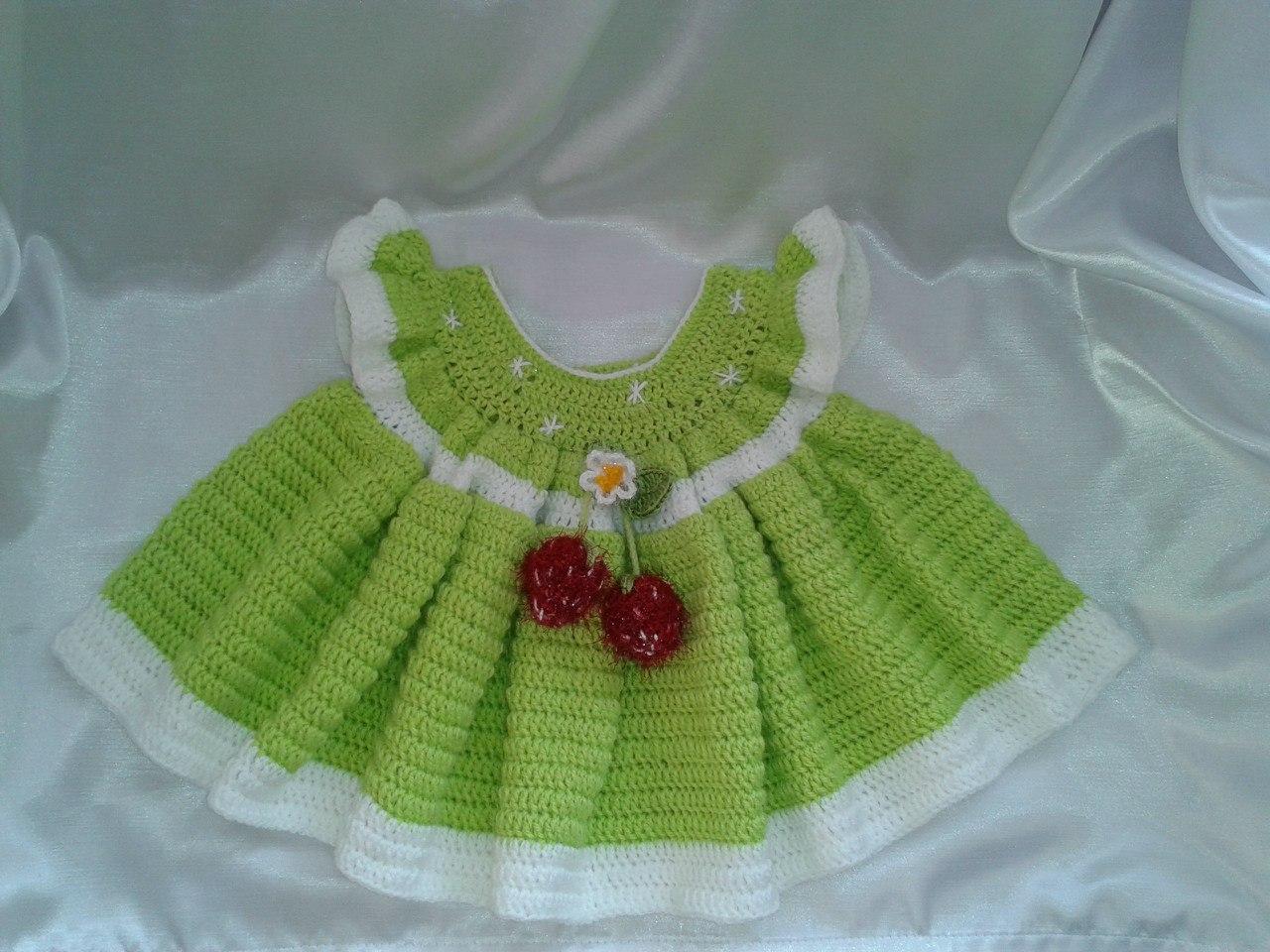 Вязаное платье от Елены Прокловой: Вязание на oleksi 90