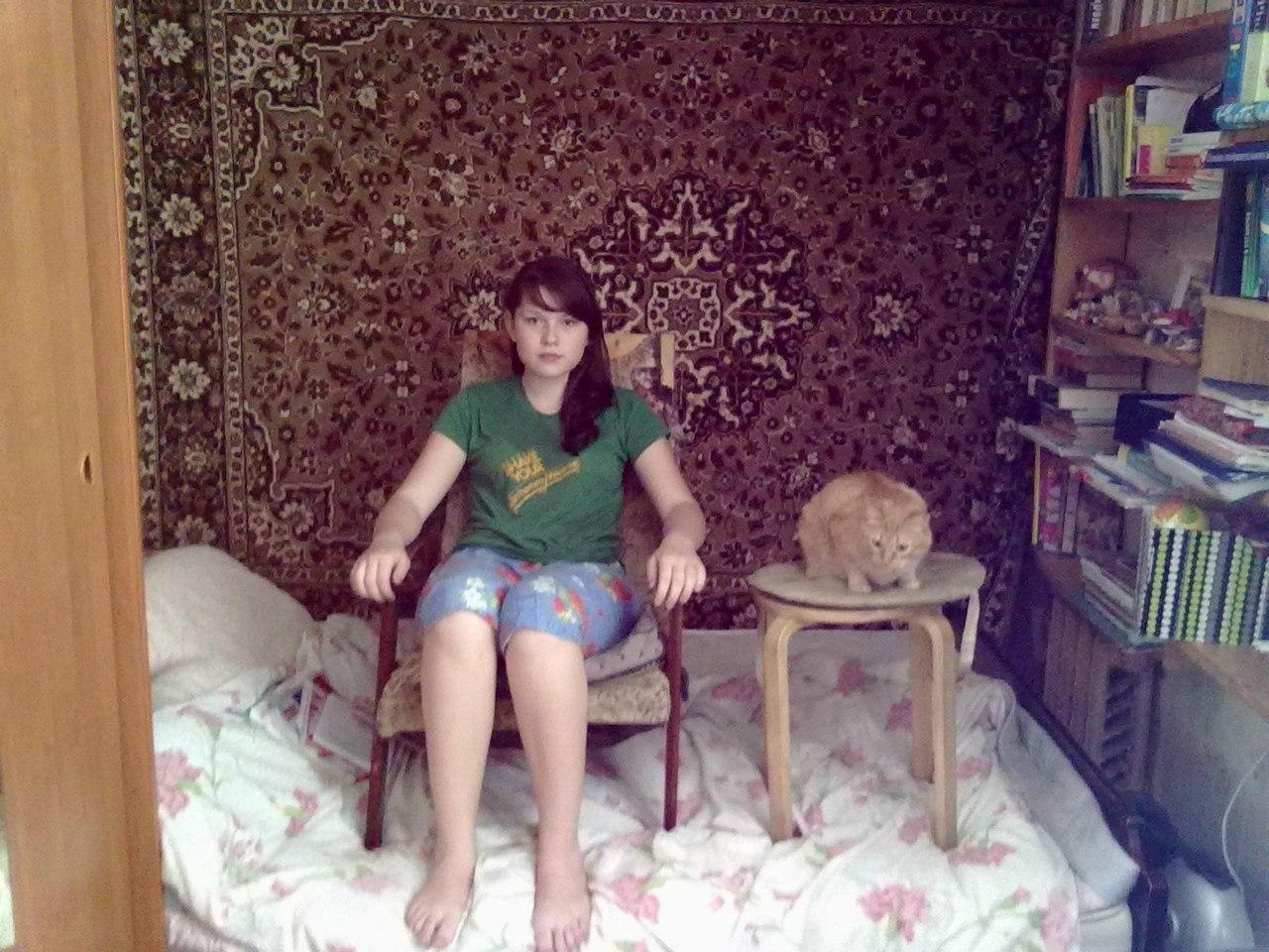 Частные домашние фотографии русских девушек 20 фотография