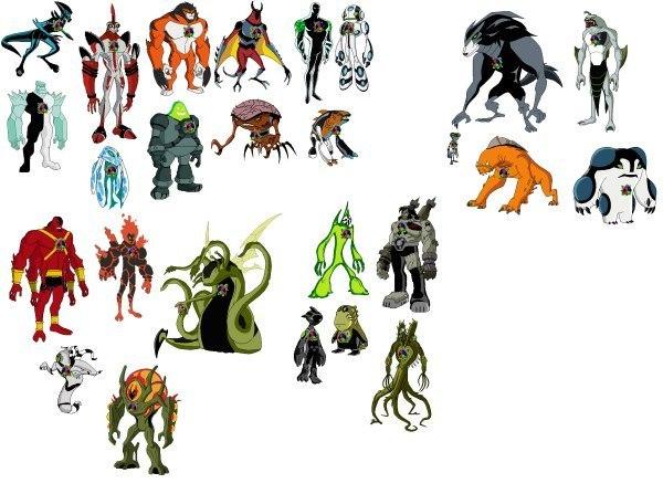 картинки все герои бен 10 омниверс