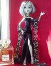 Как сшить простое платье на куклу монстер хай. как сшить одежду для куклы монстер хай из носка by Мили Ванили 115...