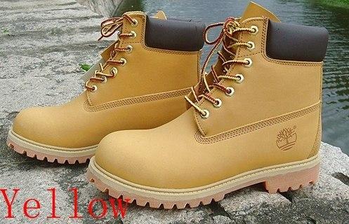 Желтые Ботинки Тимберленд