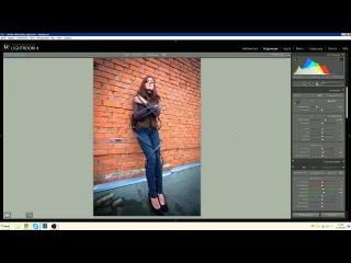 Урок по Лайтруму и фотошопу для начинающих фотографов. Lightroom 4 and Photoshop Lesson for newbee