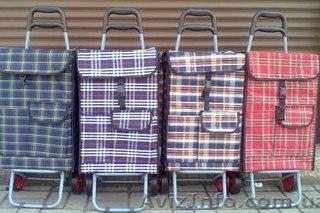 Сумка-тележка хозяйственная на колесах(каркас)Особенность сумки- тележки состоит в откидной ручке,которая облегчает...