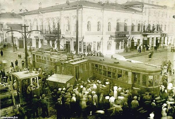Бешенные трамваи в Перми всегда водились)))))))))