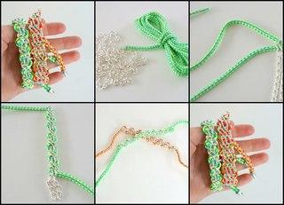 Плетение из трубочек скубиду для начинающих