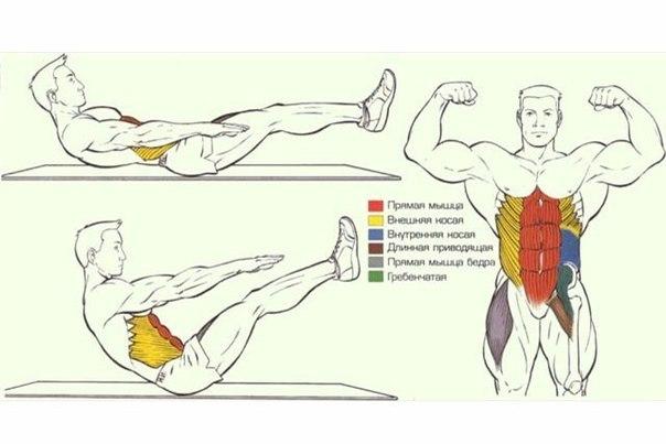 Упражнения для рельефа мышц в домашних условия 626