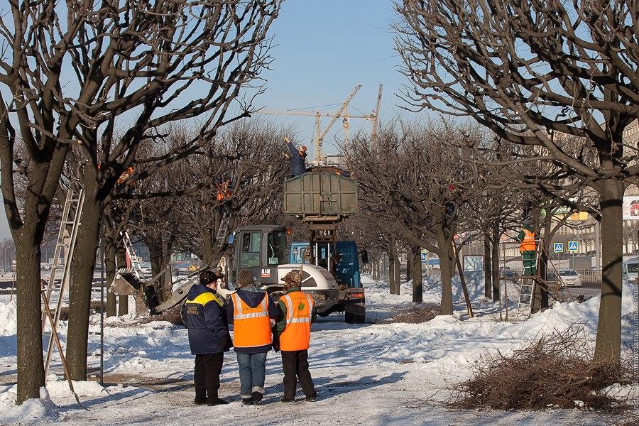 Санкт-Петербург благоустройство