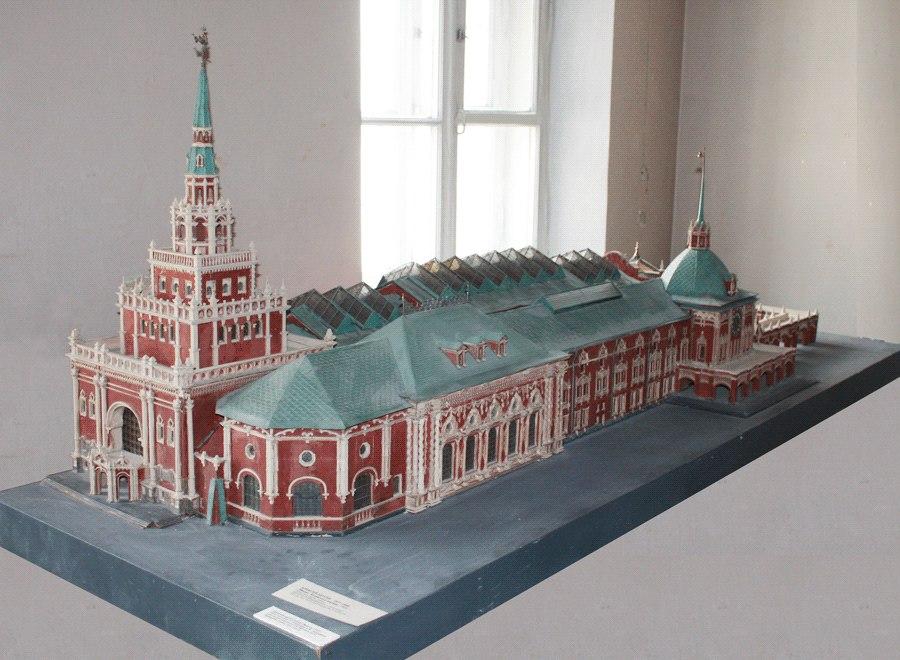 Авторская модель Казанского Вокзала. 1915г.