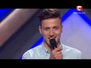 Х фактор 4 Александр Яценко - Любовь Успенская кастинг Одесса 31 08 13 Украина 2013 X-Factor