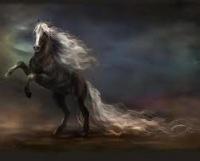 """Предпросмотр - Схема вышивки  """"черный конь """" - Схемы вышивки - segalinna - Авторы - Портал  """"Вышивка крестом """" ."""