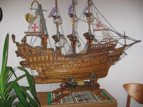 Макеты старинных кораблей парусники своими руками