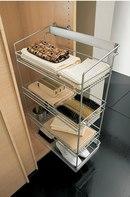 Корзина бельевая для шкафов купе бокового крепления.  Данное приспособление предназначено для хранения в гардеробных...