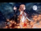 Sword Art Online - Make Me Wanna Die (Asuna and Kirito) AMV