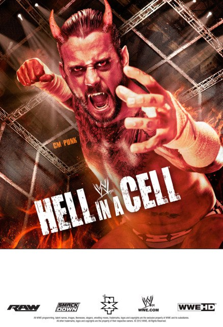 Постер к Hell in a Cell 2012